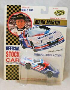 1:43 Die Cast NASCAR Road Champs Stock Car #6 Mark Martin