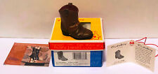 2003 Just The Right Shoe Li'L Cowboy 27336 New Never Displayed Mint In Box