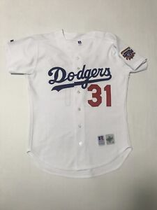 Authentic Mike Piazza #31 Los Angeles Dodgers Diamond Collection Jersey Size 44