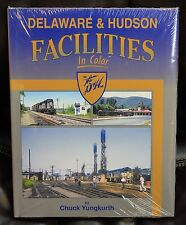 MORNING SUN BOOKS - DELAWARE & HUDSON FACILITIES In Color - HC 128 Pages