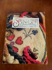 Spin-off Magazine Spring 1988 Sheep Breeds, Sweater, Felting,Dyeing