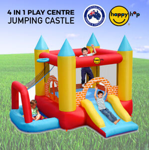 Happy Hop 4 in 1 Jumping Castle Bouncer With Ball Pit - 9114
