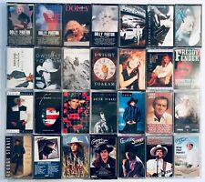You Pick Cassette Tapes: COUNTRY Outlaw, Nashville, Honky-Tonk, 70s, 80s, 90s