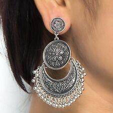 Oxidized Silver Jewellery Stylish Party Wear Dangle & Drop Earrings for Women