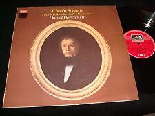 CHOPIN SONATAS NO. 2&3<>DANIEL BARENBO<>Lp VINYL<>UK Pressing<>EMI ASD.3064