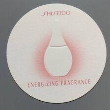 Carte à parfumer  - perfume card  - Energizing Fragrance Shiseido
