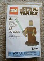 LEGO - Rare - LEGOLAND Exclusive - 6252811 2018 Star Wars Figure Obi-Wan Kenobi
