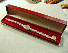 9 ct or deuxième main mesdames bracelet omega watch