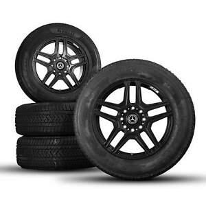 Mercedes Benz 22 pouces Classe G W463 G500 4x4² roues hiver pneus hiver NOUVEAU