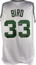 Celtics Larry Bird Authentic Signed White Jersey Autographed BAS or PSA