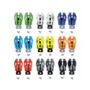 Sidi MX/ST Motorcycle Motorbike Boots Spare Pop Buckle (Pair) All Colours