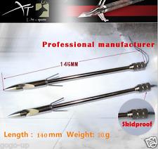 "3 Pcs 5.5"" Hunting Fish Arrow Bowfishing Catch Halieutics Torpedo Tips Slingshot"
