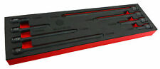Britool Hallmark Impacto Socket Extension Conjunto de 8 piezas de espuma 3/8 unidad 1/2 Unidad