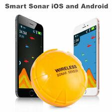 Wireless Underwater Smart Fishfinder Bluetooth Sonar Fish Finder IOS Android Pan
