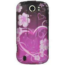Rubberized Protector Case for HTC myTouch 4G Slide - Exotic Love