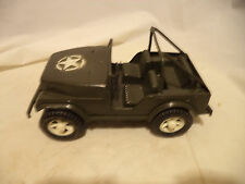 """Vintage Gay Toys Inc. US Army Jeep #650~Plastic 9"""" Length~Made In USA"""