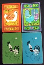 Swap Playing Cards - Chooks X 4 Cards