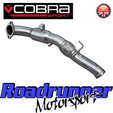 FD83 Cobra Focus RS MK3 Sports Cat Downpipe Exhaust Stainless Catalyst - Fits OE