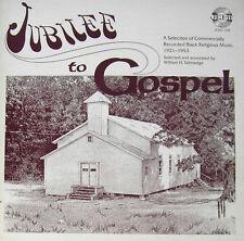 Jubilee to Gospel SEALED JEMF 108 LP 1921-1953 various