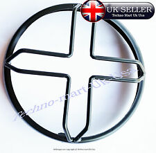"7"" GRILL ROYAL ENFIELD HEADLIGHT HEAD LAMP PROTECTIVE GRILL COVER (STAR) @UK"