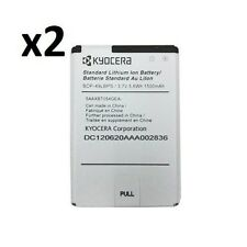 2 NEW OEM KYOCERA SCP-46LBPS BATTERY HYDRO C5170 RISE C5155 C5156 BOOST VIRGIN