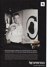 Publicité 2010 NESPRESSO le café corps et ame n°51