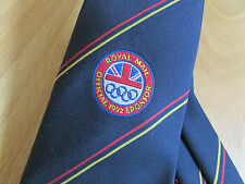 ROYAL Mail Official British OLYMPIC Association Sponsor 1992 Tie - SEE PICTURES