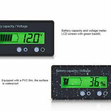 LCD Display Indicator Digital Voltmeter Voltage Tester Monitor Battery Capacity