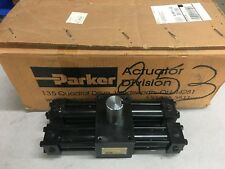 New In Box Parker Hydraulic Rotary Actuator Htr10 180 8c Ab12 C