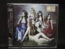 ALDIOUS Determination JAPAN CD + DVD Raglaia Galmet Crying Machine Manipulated