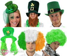 Green Leprechaun Top Hat St Patricks Day Fancy Dress Irish Ireland PADDYS