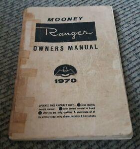 Mooney Ranger Owner's Manual 1970 M20C Handbook Operations Service Maintenance