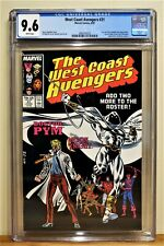 WEST COAST AVENGERS #21 CGC 9.6 - WHITE PAGES *MOON KNIGHT JOINS THE TEAM*