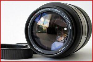 ***Mint FF Minolta Maxxum AF 70-210mm f/3.5-4.5 AF Lens Sony A-mount - #537