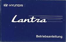 HYUNDAI LANTRA Betriebsanleitung 1998 Bedienungsanleitung J3 RD Handbuch   BA