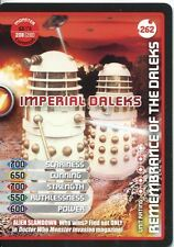 Doctor Who Monster Invasion Extreme Card #262 Imperial Daleks