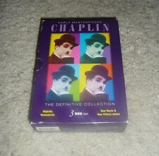 Charlie Chaplin: Early Masterpieces The Definitive Collection - 3 DVD Set