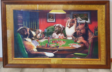 Dogs Playing Poker approx. 90cm x 50cm