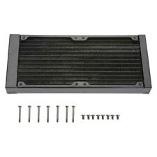 240MM Water Cooling 12 Tubes CPU Cooler Row Heat Exchanger Radiator Pump for PC