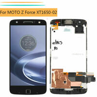For Motorola MOTO Z Force XT1650-02 LCD Display Touch Screen Assembly + Frame DL