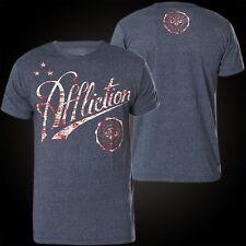 AFFLICTION T-Shirt Icon Sport Blau T-Shirts Herren