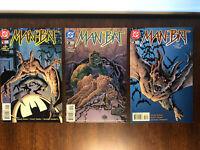 Man-Bat 1 2 & 3 Full Series DC Comics 1996 Batman