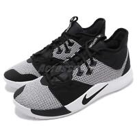 Nike PG 3 EP Paul George Black White Mens Basketball Shoes Sneakers AO2608-002