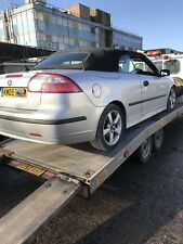 05 SAAB 9-3 CONVERTIBLE BREAKING FOR PARTS / FOUR WHEEL NUTS / 268 / CABRIOLET