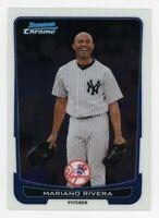 2012 Bowman Chrome #129 MARIANO RIVERA New York Yankees BASE BASEBALL CARD