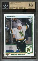 1990-91 upper deck french #46 MIKE MODANO stars rookie BGS 9.5 9.5 9.5 9.5