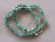 """16"""" Strand Light Blue Green Apatite Gemstone Faceted Nugget Beads 7mm-10mm"""