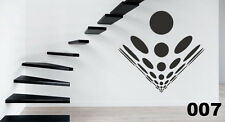 ABSTRACT OPTICAL ILLUSION GEOMETRIC VINYL WALL STICKER ART DECAL GRAPHIC XXL 007