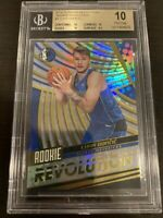 2018-19 Panini Revolution Luka Doncic Rookie Revolution #1 BGS 10 GEM MINT MAVS