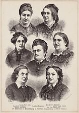 Original-Holzschnitte (1800-1899) aus Deutschland mit Porträt & Persönlichkeiten